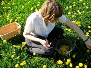 Juli in the Field