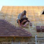 Random image: Lena Placing the First Tiles