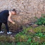 Random image: Josie Cleaning the Garden