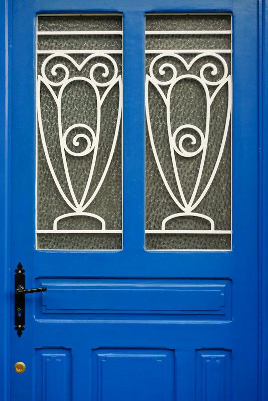 Random image: Blue Door Closeup