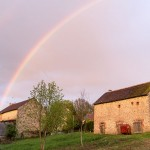 Yup, we have double rainbows in La Creuse