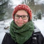 Random image: Lena in the Snow