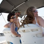 Random image: Lena and Donnell on the Boat