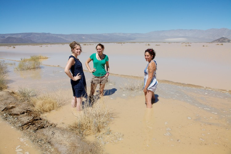Cooling off in Death Valley