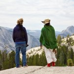 Random image: Lena and Otter Overlooking Half-Dome