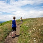 Random image: Lena and Mom on the Appalachian Trail