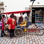 Random image: Street Vendor, San Cristobal
