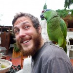 Random image: Jason and Parrot Friend
