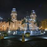 Random image: Plaza de Armas at Night