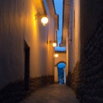 Random image: San Blas Alleyway at Night