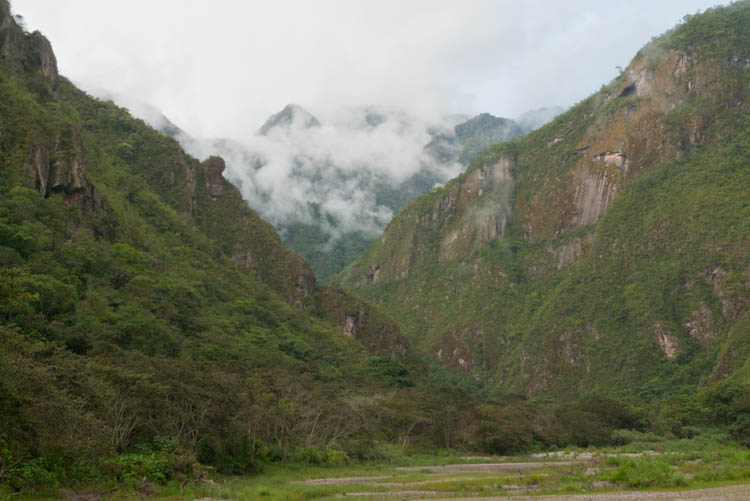 View from the Trail to Aguas Calientes