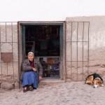 Random image: Woman and Dog