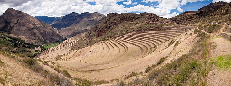 Panorama from Pisac Ruins