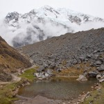 Small Lake in front of Salkantay