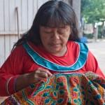 Random image: Lastenia Working on Embroidering
