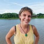 Random image: Lena Looking Happy in the Jungle