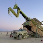 Random image: Praying Mantis Art Car