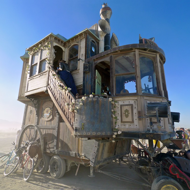 Victorian House Art Car
