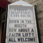 Random image: Church Advertisement