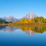 Random image: Grand Tetons at Oxbow Bend