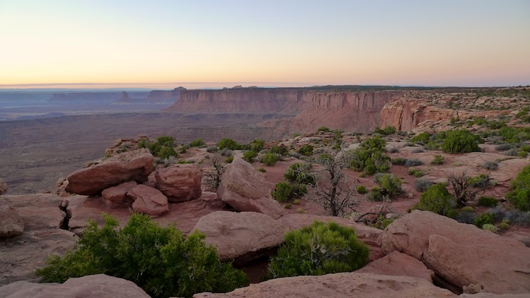 Evening Colors, Canyonland