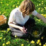 Random image: Juli in the Field