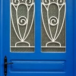 Random image: Blue Door Closeup