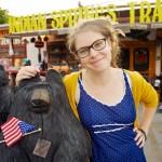 Random image: Lena and the Bear