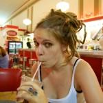 Random image: Lena in the Diner