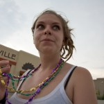 Random image: Lena with Mardi Gras Beads