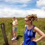 Random image: Lena and Mom on the Appalachian Trail