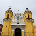 Random image: Yellow Church