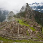 Random image: Machu Picchu in the Mist