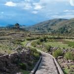 Random image: Path through the Hills in Llachon