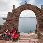 Random image: Children at the Arch on Taquille