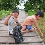 Random image: Boys Fishing for Pihrana