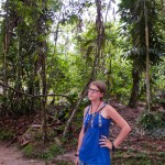 Random image: Lena in the Jungle