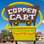 Random image: Copper Cart, Route 66