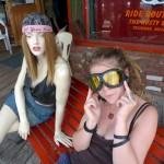 Random image: Lena on Route 66