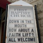 Random image: Church Advertisement